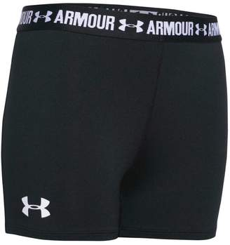 Under Armour Girls 3in Armour Shorty Shorts