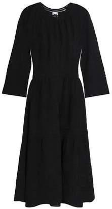 M Missoni Gathered Crochet Cotton-Blend Dress