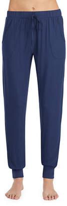 Halston H Jersey Knit Pyjama Jogger Pants