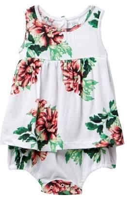 Nordstrom Bubble Romper Dress (Baby Girls)
