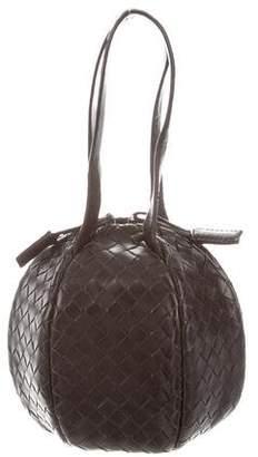 Bottega Veneta Leather Intrecciato Mini Bag