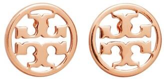 Tory Burch LOGO CIRCLE-STUD EARRING