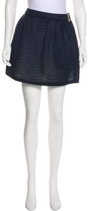 MAISON KITSUNÉ Mesh Mini Skirt