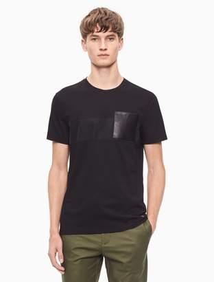 Calvin Klein regular fit striped pocket t-shirt