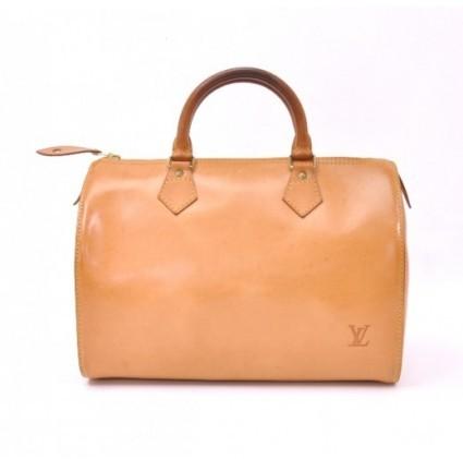 Louis Vuitton excellent (EX) Vintage Brown Nomade Vachetta Leather Limited Edition Speedy 30 City Bag