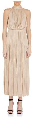 Maria Lucia Hohan Kayla Pleated Chiffon Midi Dress