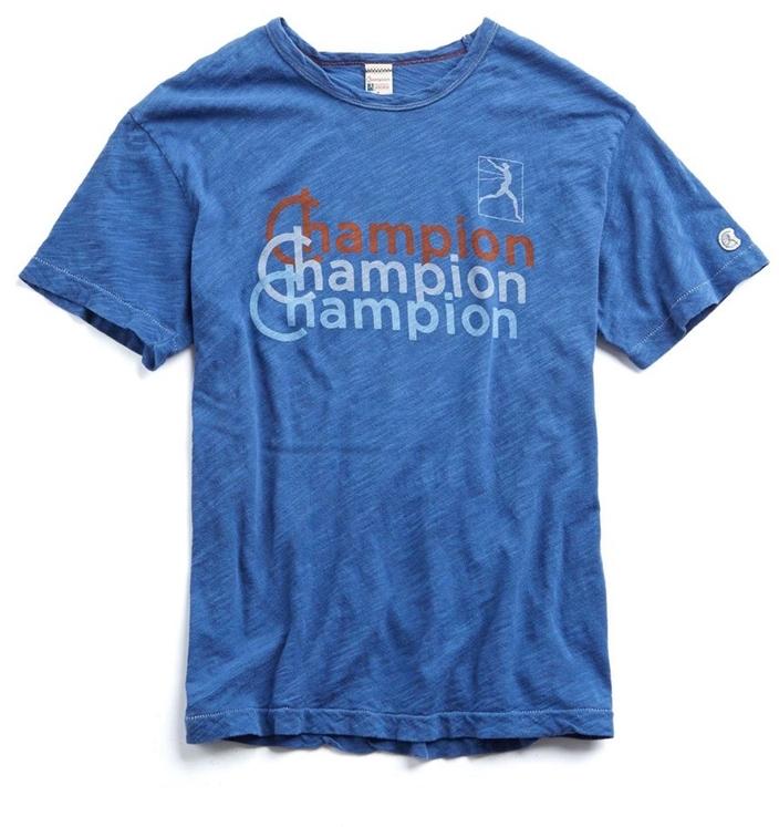 TODD SYNDER + CHAMPION Shadow Logo T-Shirt