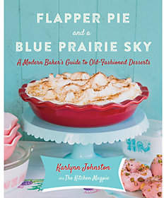 QVC Flapper Pie and a Blue Prairie Sky Cookbook byKarlynnJohnston
