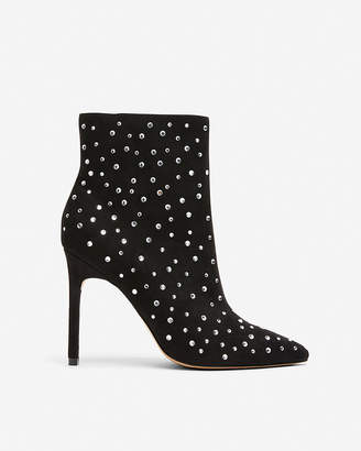 Express Gemstone Heeled Booties