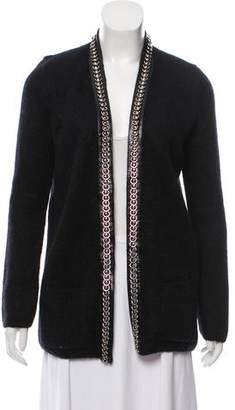 Saint Laurent Mohair Knit Cardigan