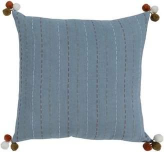 Surya Dhaka Embroidered Cotton Pillow Cover