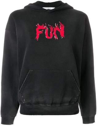 Givenchy fun printed hoodie