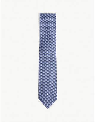Salvatore Ferragamo Mushroom print silk tie