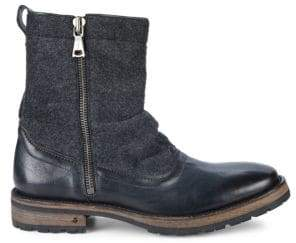 John Varvatos Tahoe Side Zip Boots