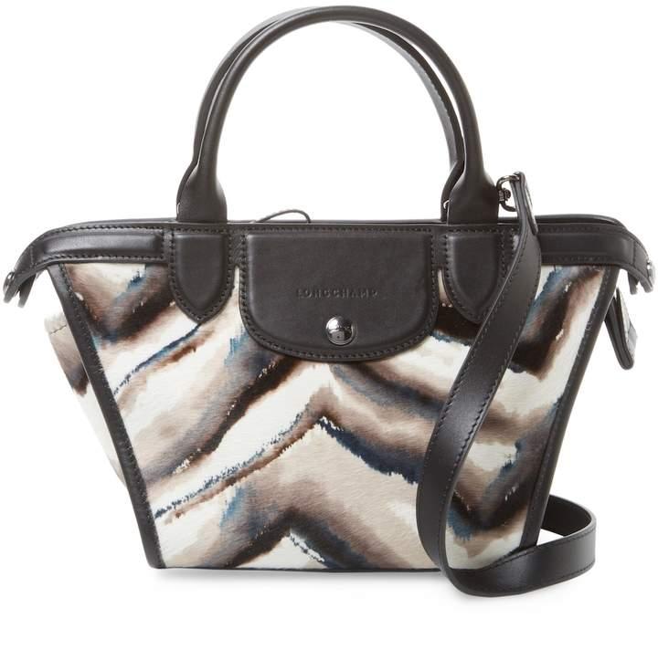 Longchamp Women's Le Pliage Heritage Luxe Crossbody Bag