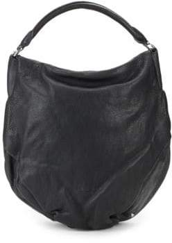 Liebeskind Berlin Debossed Logo Leather Hobo Bag