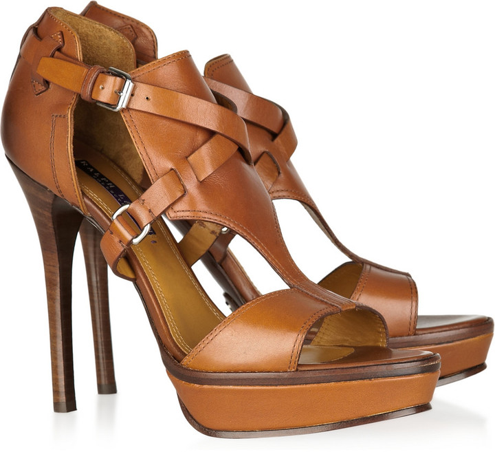 Ralph Lauren Bailee leather sandals
