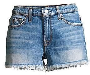 7 For All Mankind Women's Cut-Off Denim Shorts