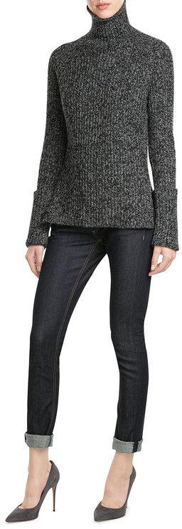 JOSEPHJoseph Wool Marled Knit Turtleneck