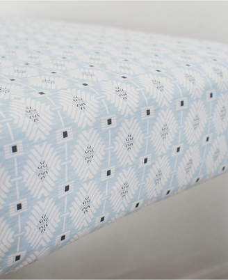 Petunia Pickle Bottom Southwest Skies 100% Cotton Geo-Print Jersey-Knit Fitted Crib Sheet Bedding