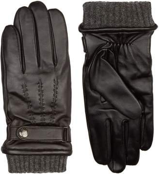 Dents Touchscreen Leather Gloves