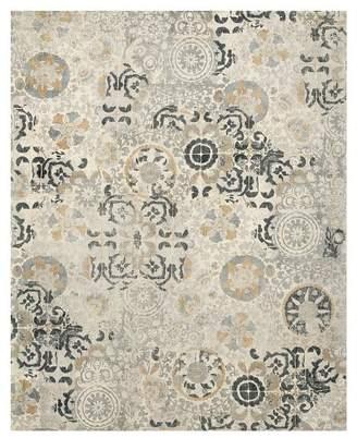 Pottery Barn Talia Printed Rug - Gray