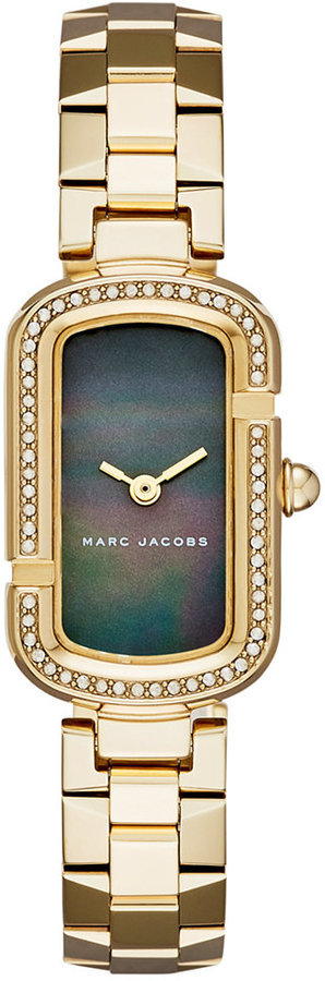 Marc By Marc JacobsMarc by Marc Jacobs Women's The Jacobs Gold-Tone Stainless Steel Bracelet Watch 20x31mm MJ3536