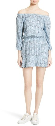 Women's Soft Joie Sarnie Print Peasant Dress $188 thestylecure.com
