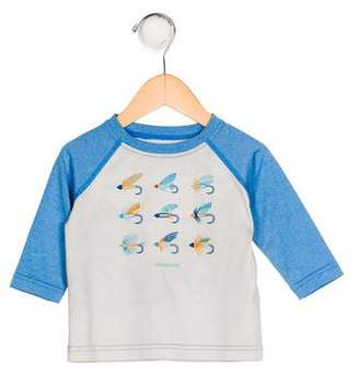 Patagonia Boys' Printed Knit Shirt