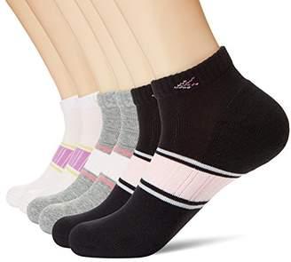 KOSY KOMFORT Womens Cotton 6-Pack Low Cut Ankle Socks Athletic Sports Socks FIT 6-10