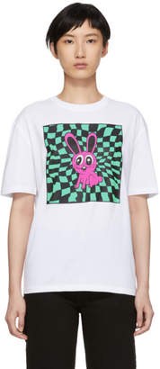 McQ White Acid Bunny T-Shirt