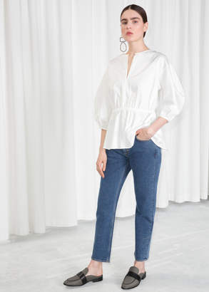And other stories Loose Tapered Jeans
