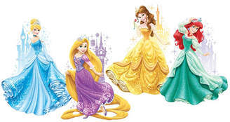 York Wall Coverings York Wallcoverings Disney Princesses and Castles Peel and Stick Giant Wall Decals