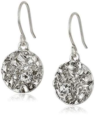 Kenneth Cole New York Textured -Tone Drop Earrings