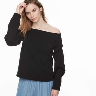 K Lab k/lab Off The Shoulder Sweatshirt