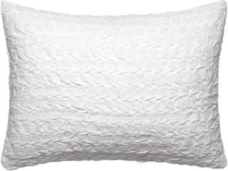 Vera Wang Linear Tucks Crinkle Accent Pillow