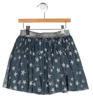 Stella McCartney Girls' Glittered Star Skirt w/ Tags
