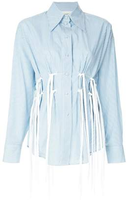 Ports 1961 tie laces detail shirt