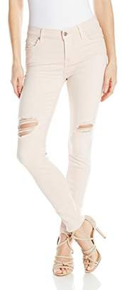 7 For All Mankind Women's The Ankle Skinny with Destroy