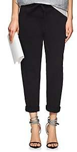 Robert Rodriguez Women's Cotton Twill Crop Pants - Black