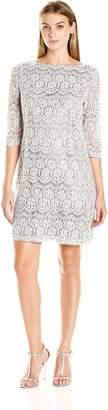 Jessica Howard JessicaHoward Women's 3/4 Sleeve T-Body Shift Dress