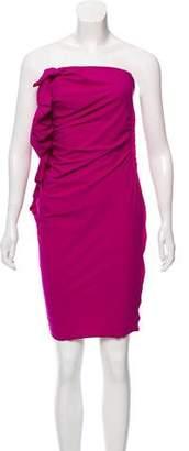 Lanvin Sleeveless Bodycon Mini Dress
