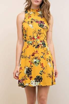Entro Floral Dress