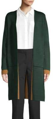 Calvin Klein Long Open-Front Cardigan