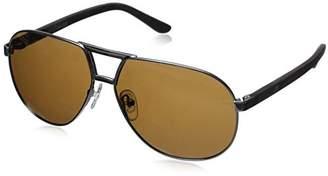 Hang Ten Gold Classic Aviator HTG1012 C3 Polarized Round Sunglasses