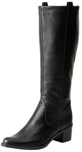 Calvin Klein Women's Haydee Waxy Tumbled Leather Boot