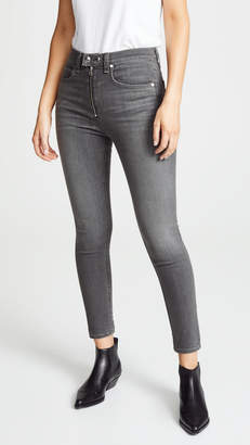 Rag & Bone The Baxter Coated Skinny Jeans