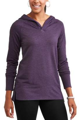 Avia Women's Athleisure Relaxed Fit Hi-Lo Hoodie