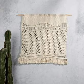 west elm Yerbamala Designs Wall Hanging - Quiet Noise/Extra Large