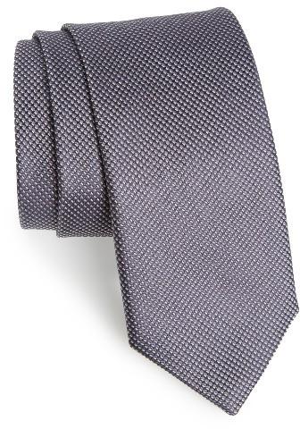 CanaliMen's Canali Textured Silk Tie